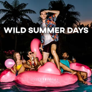 Wild Summer Days - Wonderful Chillout Music for Beach Party 2021
