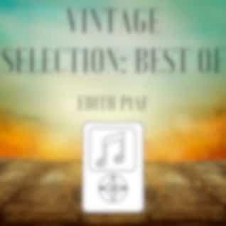 Vintage Selection: Best Of (2021 Remastered Version)