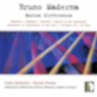 Maderna: Electronic Music