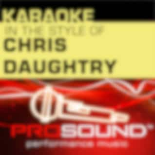 Karaoke: In the Style of Chris Daughtry - EP (Professional Performance Tracks)