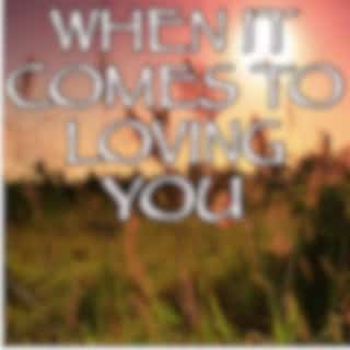 When It Comes To Loving You - Tribute to Jon Langston