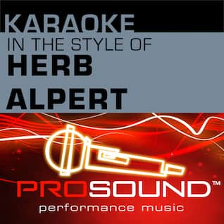 Karaoke - In the Style of Herb Alpert - EP (Professional Performance Tracks)