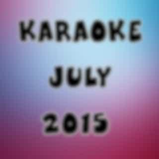 Karaoke July 2015