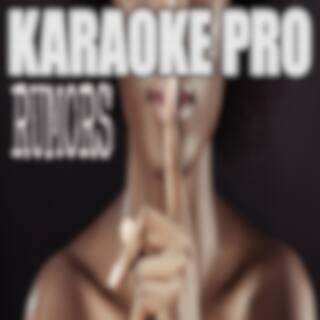 Rumors (Originally Performed by Lizzo and Cardi B) (Karaoke)