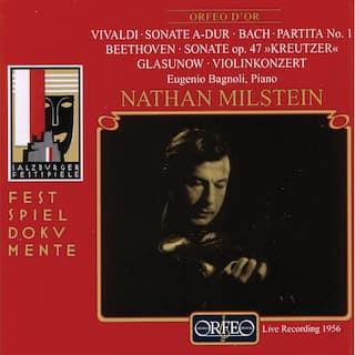Vivaldi, Bach, Beethoven & Glazunov: Works for Violin (Live)