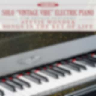 """Solo """"Vintage Vibe"""" Electric Piano: Rob Arthur Performs Stevie Wonder Songs in the Key of Life"""